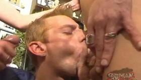 Kinky German Threesome