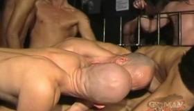 8 Man Sex Orgy (Part 1)